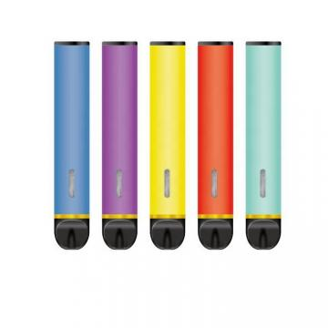 Custom Colors Packaging 5% Nicotine Flavored Disposable Vape Pens